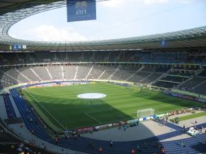 האיצטדיון לפני